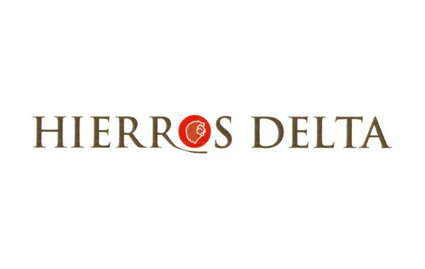 hierros delta logotip rectangular